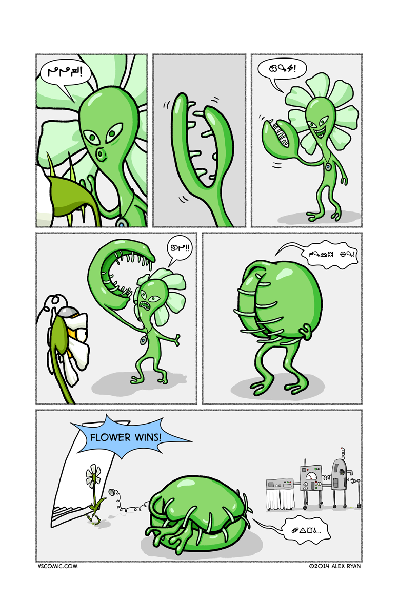 alien-vs-flower-4