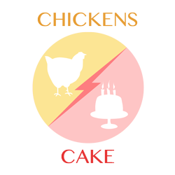 chickens-cake