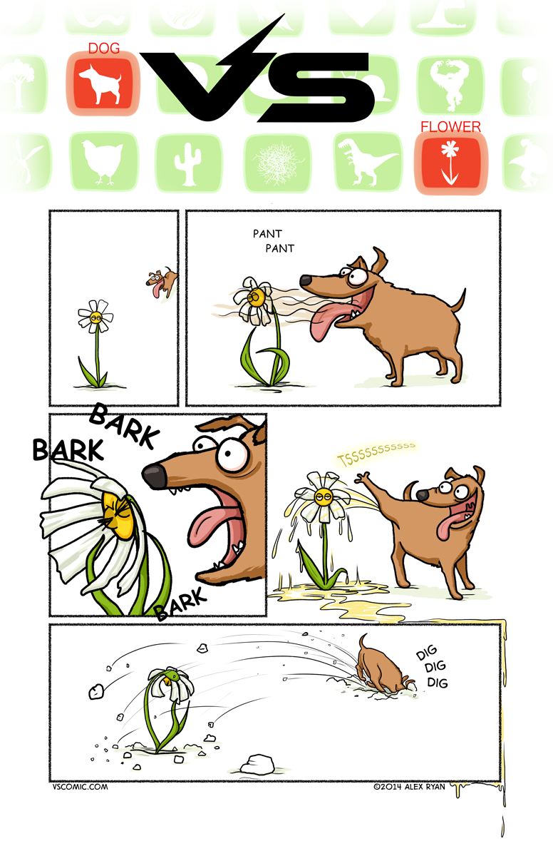 dog-vs-flower-1