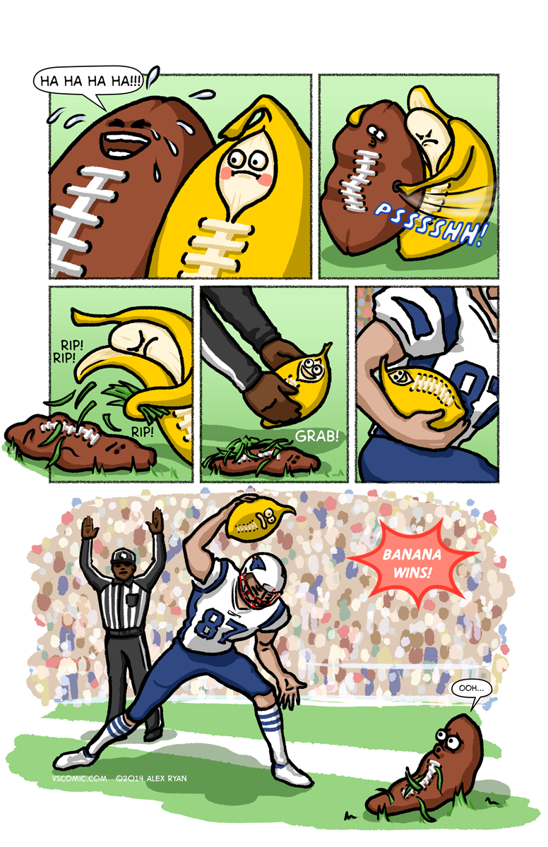 football-vs-banana-3