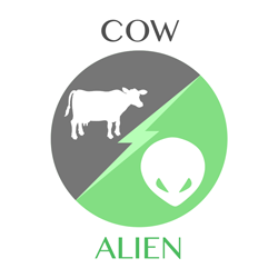 cow vs alien icon