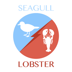 seagull vs lobster icon