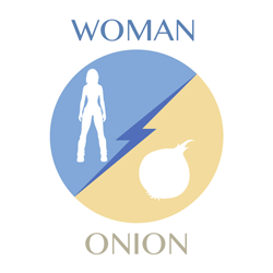 woman vs onion icon