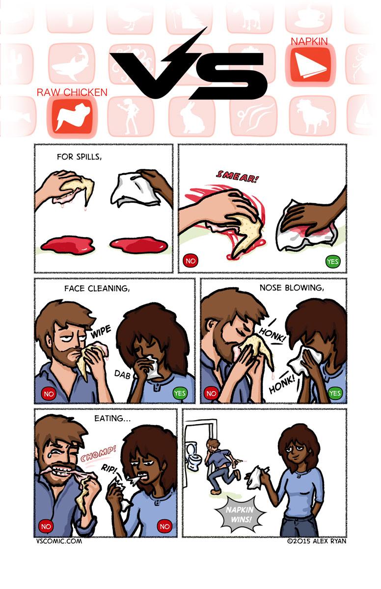 rawchicken-vs-napkin