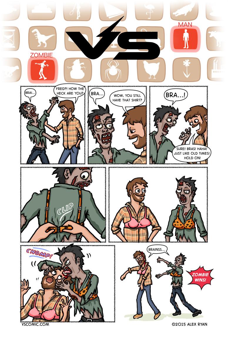 zombie-vs-man