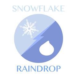 snowflake-raindrop