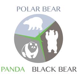 polarbear-blackbear-panda