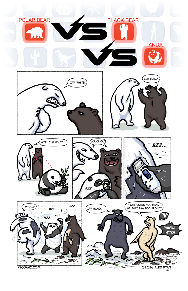 polarbear-vs-blackbear-vs-panda