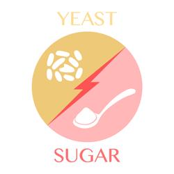 yeast-sugar