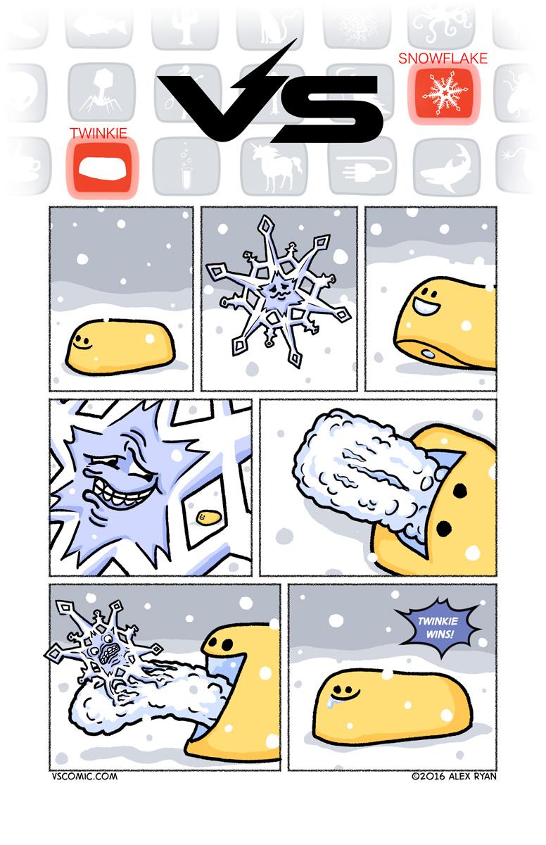 twinkie-vs-snowflake