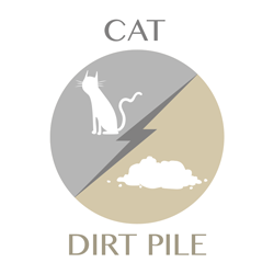 cat-dirtpile