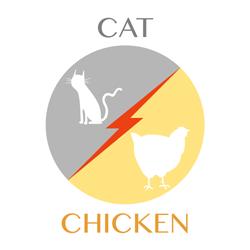 cat-chicken