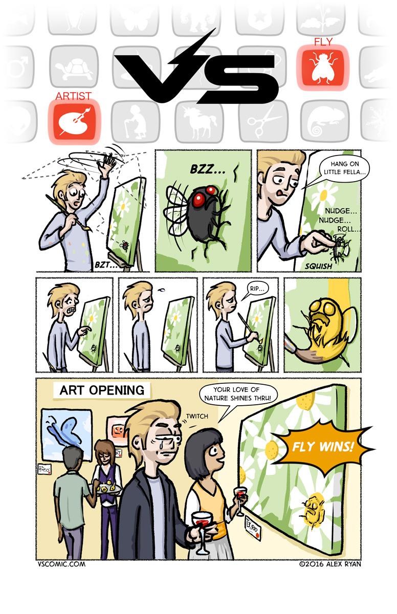 artist-vs-fly