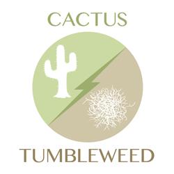 cactus-tumbleweed