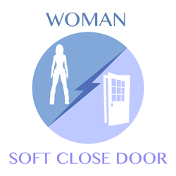 woman-softclosedoor
