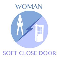 woman-softclosedoor