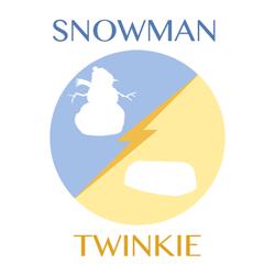 snowman-twinkie