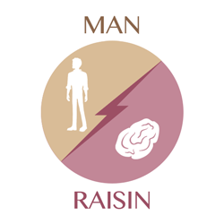 man-raisin